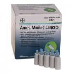 Ames Minilet, 200 stk. lancetter