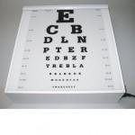 Synstavle, bogstaver, transparent