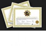 Verifikationscertifikat til Soehnle Class III vægte