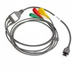 EKG-kabel, 3 afledning til MD100E, knapelektroder