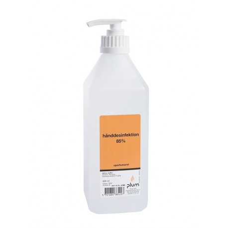 Haanddesinfektion 85% 600 ml, flydende (3852)