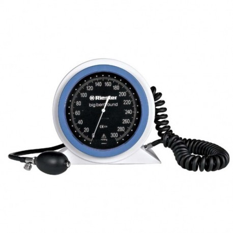 Aneroid blodtryksmåler, Big Ben Riester, bordmodel m. manchet
