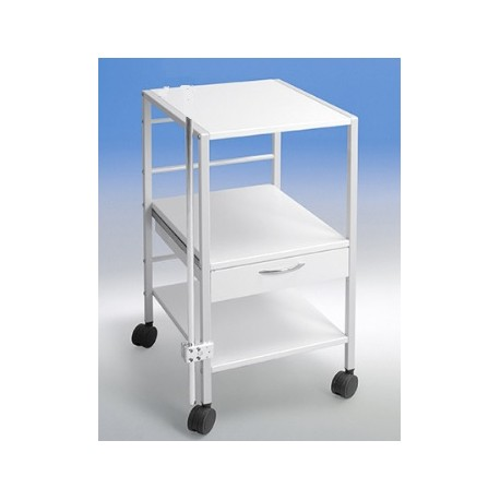 Klinikbord Consido-ecco, 1 skuffe, 40 cm bredde