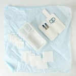 Wound care kit, disposable