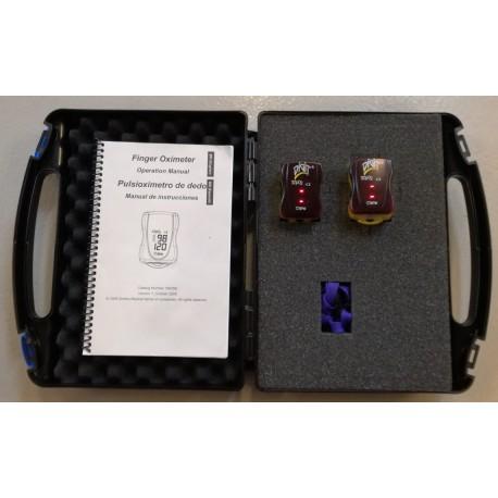 DEMO: 2 STk. BCI pulsoximetre i transportbox