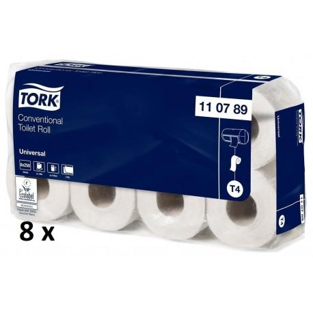 Tork toiletpapir T4, 2-lags, hvid, 64-ruller