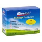 Mission Kolesterol Teststrimler - 3-1Lipid Panel, 25stk.