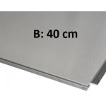 Topplade rustfritstål, Auxilio rullebord, B:40 eller 64 cm