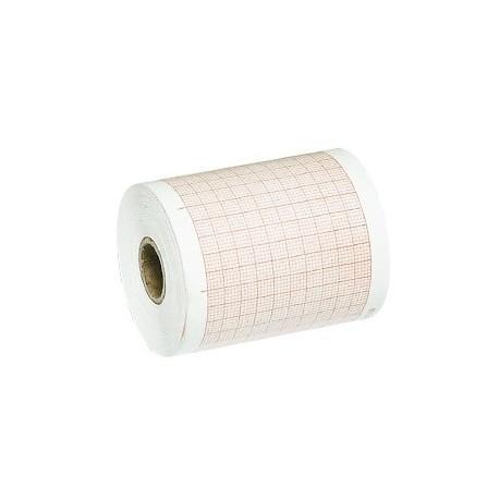 EKG-papir med tern, 63mm x 30m