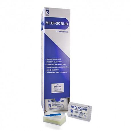 Medi-scrub, kirurgisk vaskesvamp, steril, 25 stk.