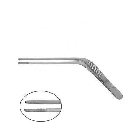 Ørepincept, vinklet, 12 cm, steriliserbar