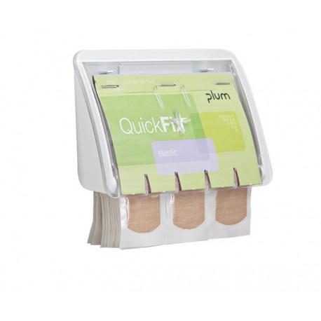 Plasterdispenser Plum QuickFix UNO klar - elastisk plaster