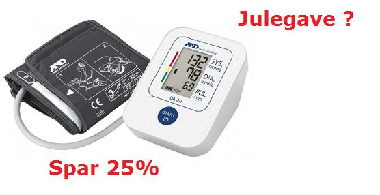 Spar 25% på blodtryksmåler