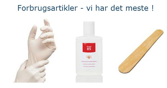 Forbrugsartikler - MEDshop.dk - stort basisudvalg af forbrugsartikler til klinikken.