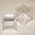 Dækglas, 18 x 18 mm, 100 stk