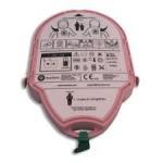 PAD-pak Heartsine, batteri + elektroder, Barn