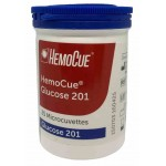 Hemocue Glukose cuvetter, 25 stk. i beholder